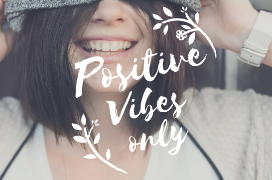 Visuel positives vibes